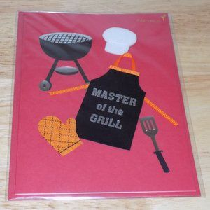 Papyrus Father's Day Card Master of the Grill